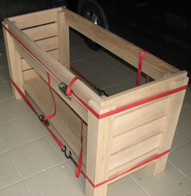 Meuble de salle de bain en chene for Assemblage meuble
